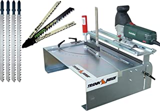 Mesa de sierra para XXL ingletadora + Bosch Festool + 4Vaivén–Armario Sierra de cinta