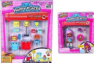 Shopkins Happy Places Bundle - Puppy Parlour Lil Shoppie Doll Kirstea PLUS Decorator's Pack