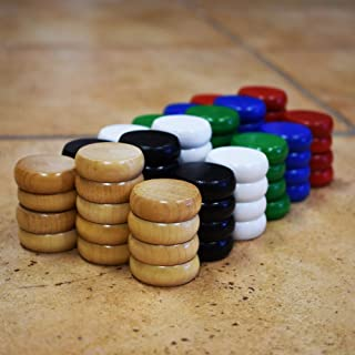 Traditional Size Crokinole Disc Party Pack (78 Discs)