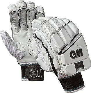 Gunn & Moore GM 909 Premium Cricket Batting Premium Gloves - Men's Size, White Color (Left Handed & Right Handed)
