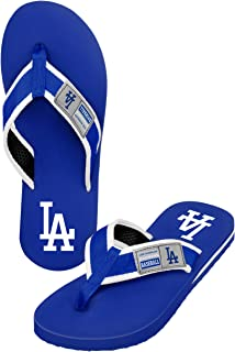 MLB Forever Collectibles men's Locker Label Contour FLIP FLOP
