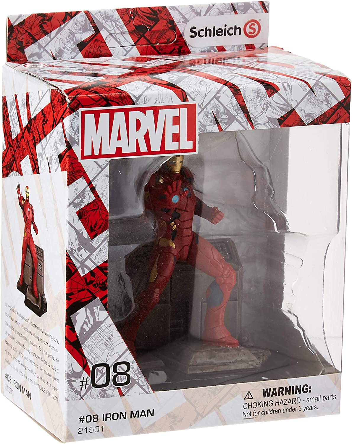 SCHLEICH Marvel Iron Super-cheap Man Character Diorama Figure Action shopping
