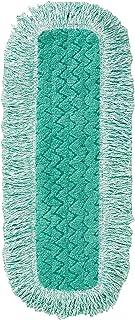 Rubbermaid 659260 Commercial HYGEN Microfiber Dust Mop Pad Green (FGQ41800GR00)