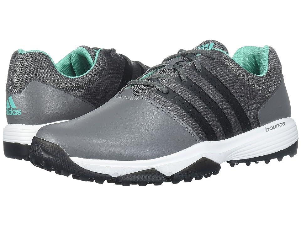 adidas Golf 360 Traxion (Grey Four/Core Black/Hi-Res Green) Men