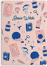 "Central 23 - Prickig journal - A5 Bullet Notebook - ""Basic Witch"" - Softback Dot Grid Journals - Premiumpapper - Planerare..."