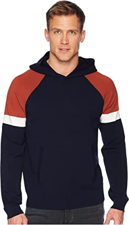 Color Block Pullover Hoodie
