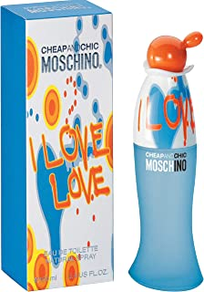 I Love Love by Moschino for Women - Eau de Toilette, 100ml
