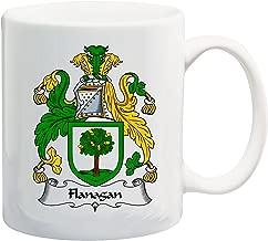 Flanagan Coat of Arms/Flanagan Family Crest 11 Oz Ceramic Coffee/Cocoa Mug by Carpe Diem Designs, Made in the U.S.A.
