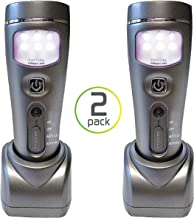 Capstone Lighting 4-in-1 Eco-I-Lite LED Emergency Flashlights, Night Light, Power Failure and Worklight, 2 Pack – Ideal Survival Gear for Your Emergency Kit, Perfect for Power Outages and Hurricanes