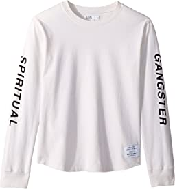 Oblique Long Sleeve Tee (Toddler/Little Kids/Big Kids)