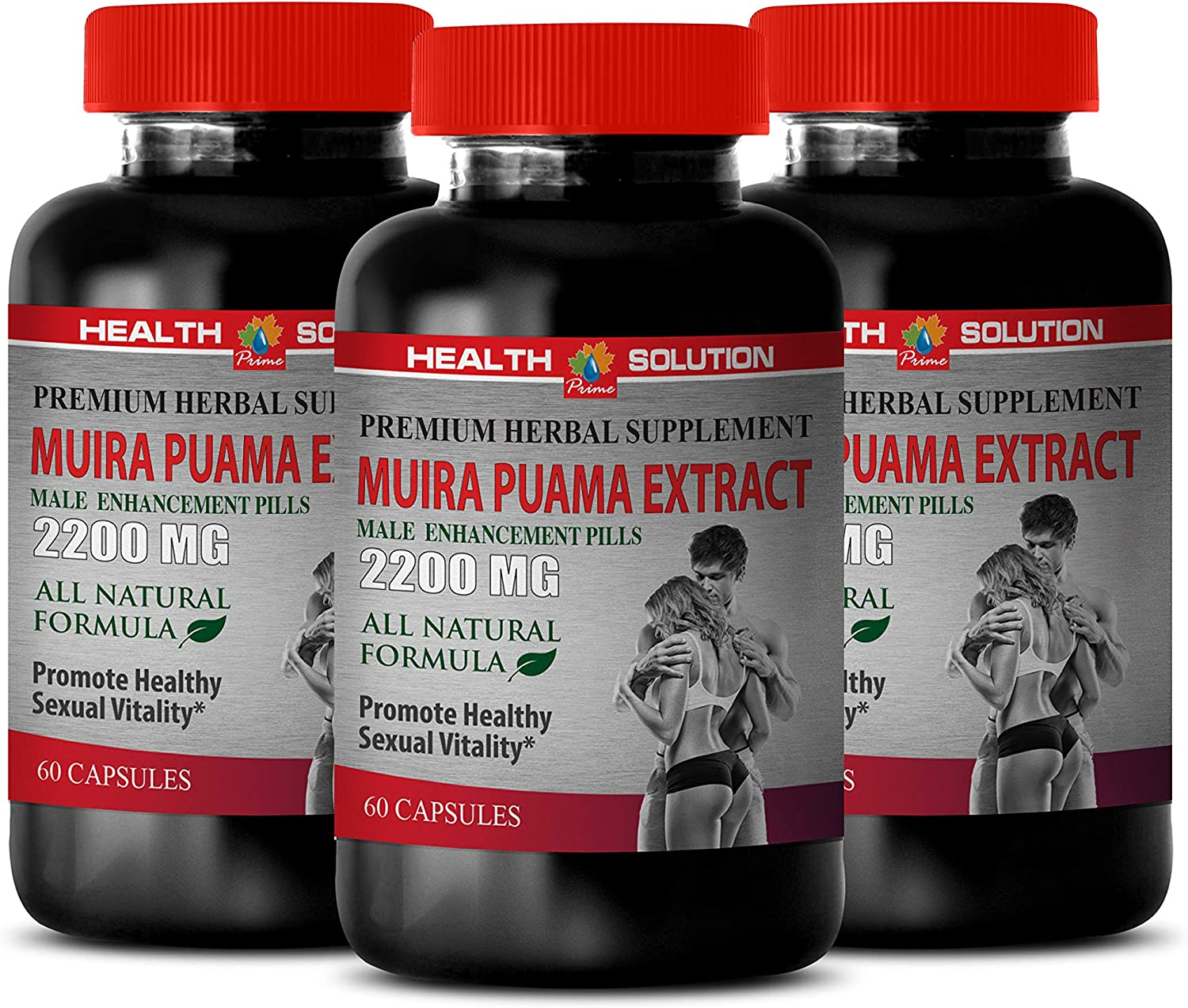 Enhancement Limited time sale - Daily bargain sale Muira PUAMA Extract Male Bra Pills