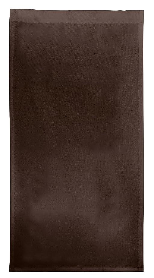 ホイッスル全滅させる決めます和泉化成 カラーボックスカーテン スタイルカーテン?ブラウン 43×88cm