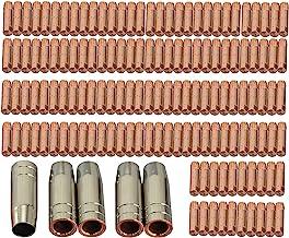 Contact Tip M6 25mm Conische Nozzle Fit MB 15AK MIG/MAG Lassen Torch 145 STKS