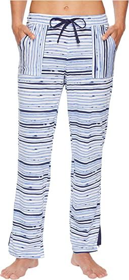 Jockey Cotton Jersey Striped Long Pants