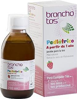Bronchotos Pediátrico – Jarabe tos seca y productiva. Niños partir