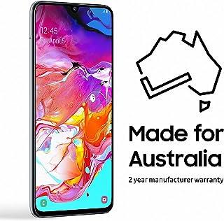 Samsung Galaxy A70 128GB Smartphone (Australian Version) with 2 Year Manufacturer Warranty, White