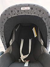 MOON-BEBE Capota Universal para Maxi-Cosi. Cubre del viento, frío y sol a tu bebé.(NEGRO)