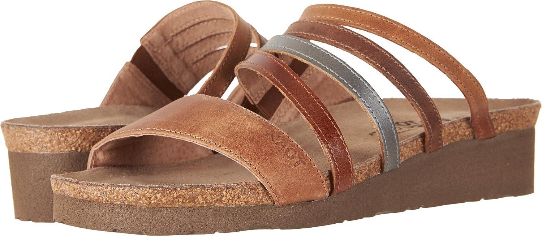 Women's Naot, Peyton Wedge Heel Slide Sandals