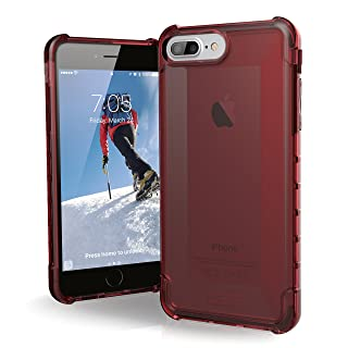 UAG iPhone 8 Plus/iPhone 7 Plus/iPhone 6s Plus [5.5-inch Screen] Plyo Feather-Light Rugged [Crimson] Military Drop Tested iPhone Case
