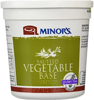 Minor's Sauteed Vegetable Base, Mirepoix, Vegetable Stock, Gluten-Free, 16 oz