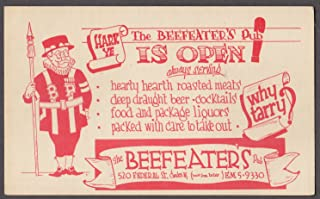 beefeater card