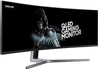 Samsung 49-Inch CHG90 144Hz Curved Gaming Monitor (LC49HG90DMNXZA) – Super Ultrawide Screen QLED Computer Monitor, 3840 x ...