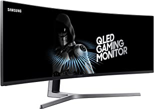 Samsung 49-Inch CHG90 144Hz Curved Gaming Monitor (LC49HG90DMNXZA) – Super Ultrawide Screen QLED Computer Monitor, 3840 x ...