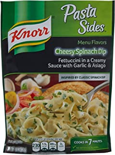 Knorr Pasta Sides Cheesy Spinach Dip, 4.1 oz. (Pack of 2)