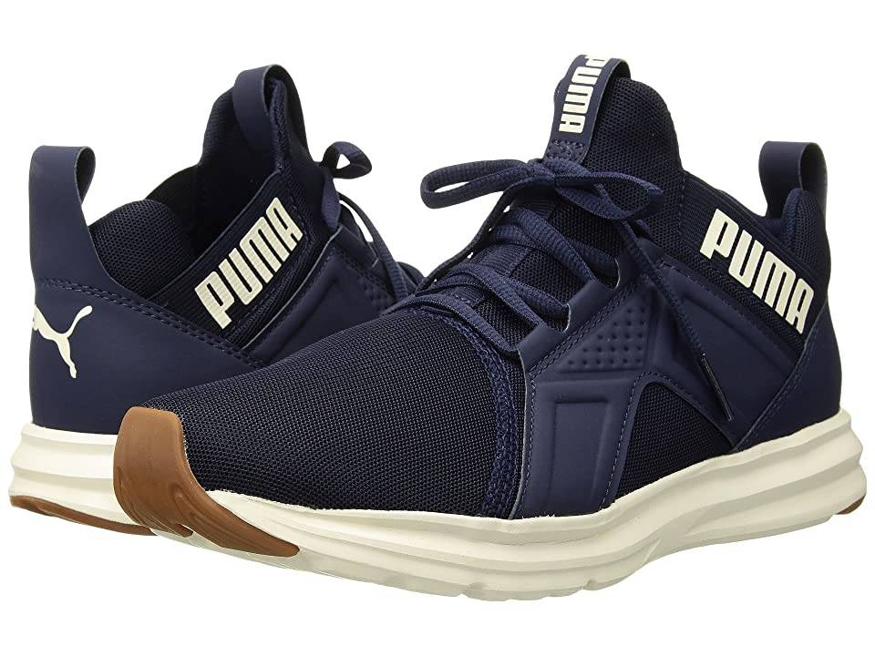 PUMA Enzo Premium Mesh (Peacoat/Whisper White) Men