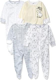 Gerber Baby 4-Pack Sleep N' Play, Sheep, 0-3 Months