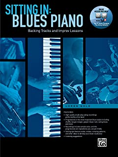 Sitting In -- Blues Piano: Backing Tracks and Improv Lessons, Book & Online Audio/Software (Sitting In Series)