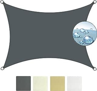 Sol Royal SolVision PS9 Vela de Sombra Toldo Parasol 400x300 cm PES Repelente del Agua Antracita protección UV