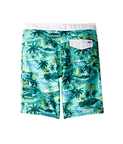 Hurley Kids Doodle Boardshorts (Toddler/Little Kids) (Tropical Twist) Boy