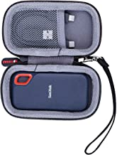 XANAD Hard Travel Carrying Case for SanDisk 250GB 500GB 1TB 2TB Extreme Portable External SSD - Storage Protective Bag