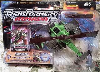Transformers Armada Powerlinx Cyclonus with Powerlinx Crumplezone Mini-con Figure
