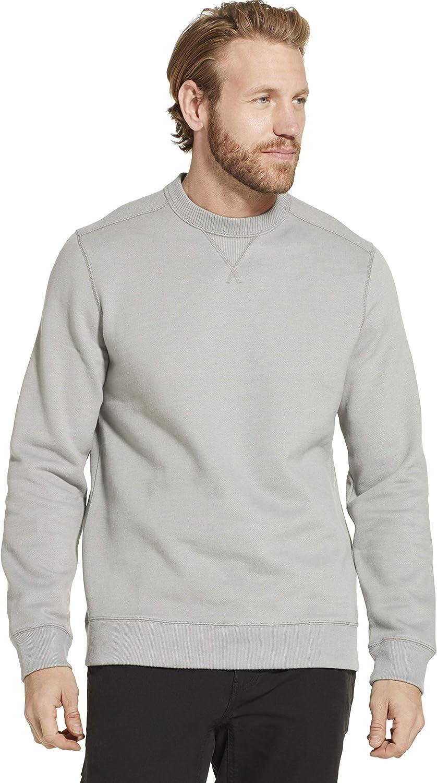 Dam Good Supply Co Performance Workwear Men's Durable Crewneck Fleece Sweatshirt (Big & Tall Sizes)