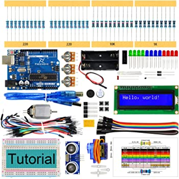 Freenove Ultrasonic Starter Kit with Control Board (Compatible ...