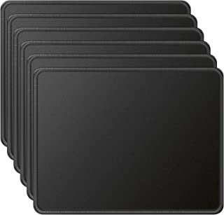 MROCO Mouse Pads Pack with Non-Slip Rubber Base, Premium-Textured and Waterproof Mousepads Bulk with Stitched Edges, Mouse...