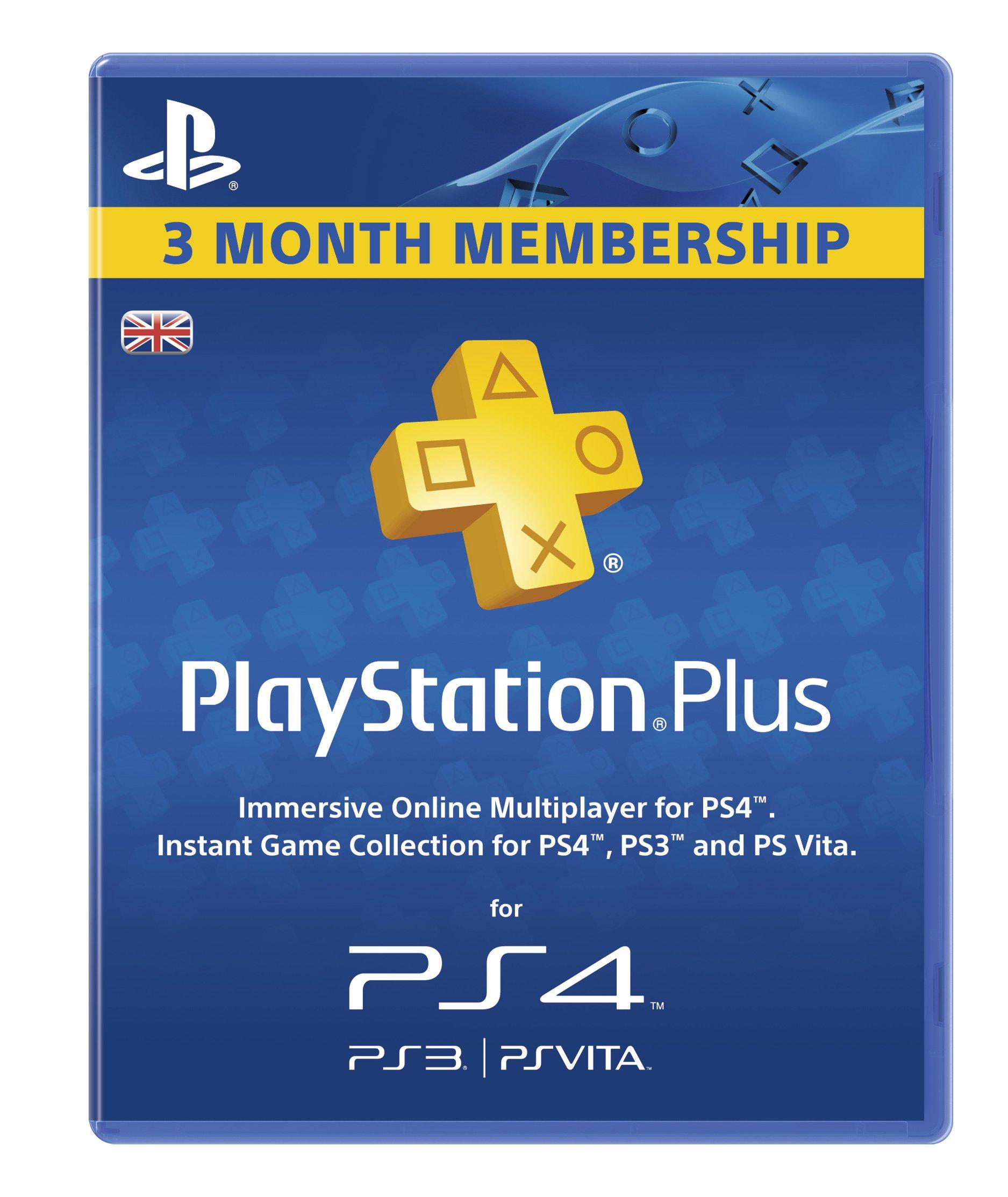 PlayStation Plus - 90 Day Subscription [Importación inglesa]: Amazon.es: Videojuegos