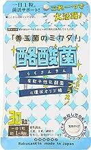 酪酸菌 チュアブルタイプ ヨーグルト味 30粒 約1か月分 (有胞子性乳酸菌 + α環状オリゴ糖) 1日1粒 水なし 大人用 子ども用