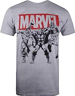 Marvel Trio Heroes Camiseta para Hombre
