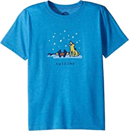Life is Good Kids - Awesome Jake and Rocket Cool Tee (Little Kids/Big Kids)