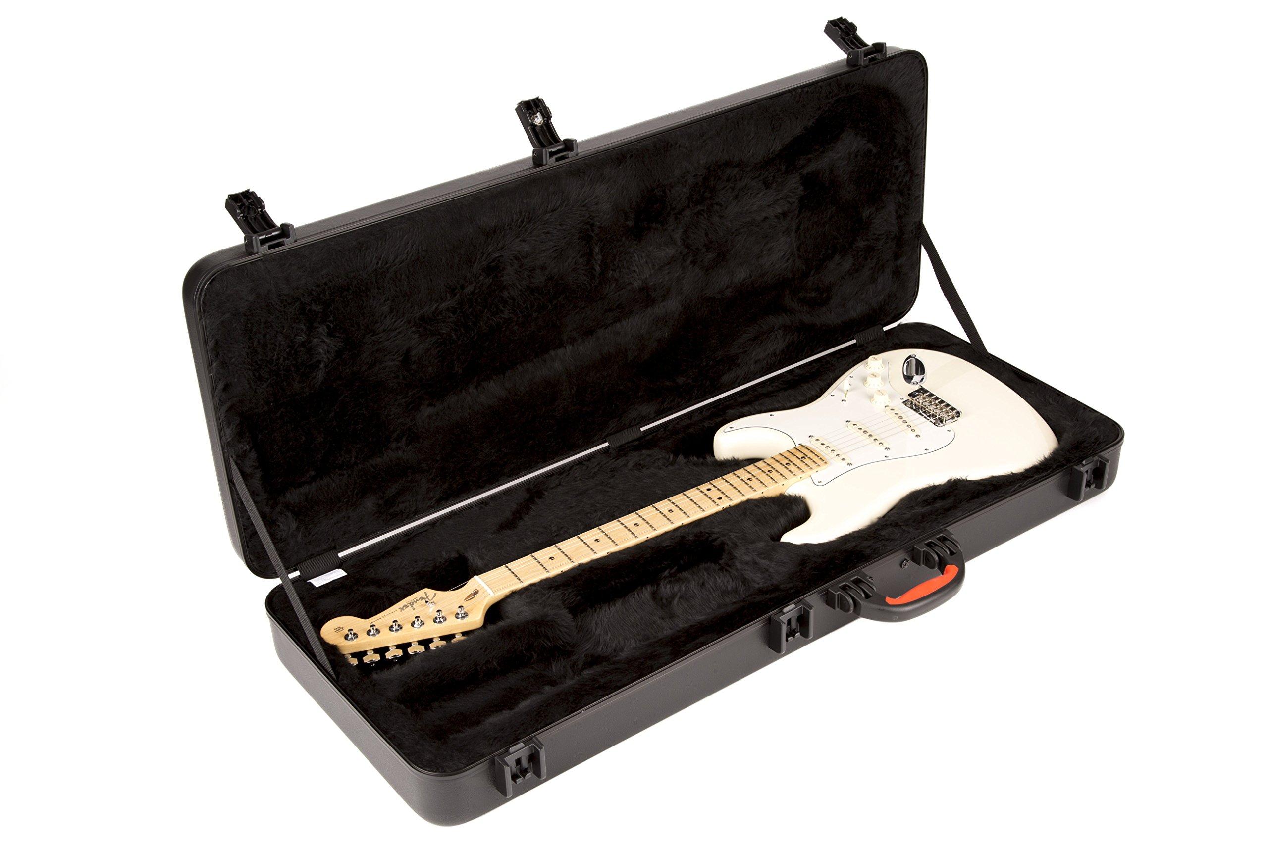 Fender ABS - Funda rígida para guitarra eléctricas (Stratocaster o Telecaster): Amazon.es: Instrumentos musicales