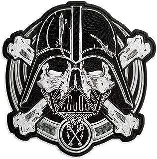 Star Wars Darth Vader (Anakin Skywalker) Pirate Skull Embroidered Patch Iron On (9.6