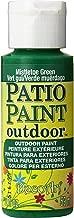 DecoArt DCP46-3 Patio Paint, 2-Ounce, Mistletoe Green