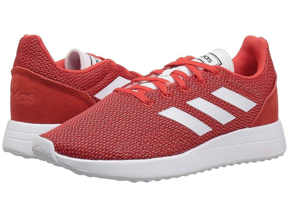 adidas Kids Run 70s (Little Kid/Big Kid) (Hi-Res Red/White/Scarlet) Kid