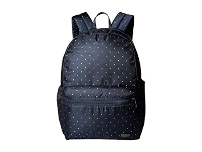 Pacsafe Daysafe Anti-Theft Backpack (Navy Polka Dot) Backpack Bags
