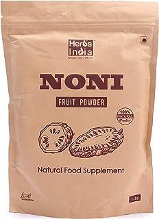 Noni Fruit Powder, 16 Ounces(1 Pound), All Natural - HerbsIndia
