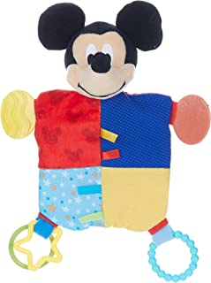 Disney Baby Mickey Mouse Plush Teether Blanket