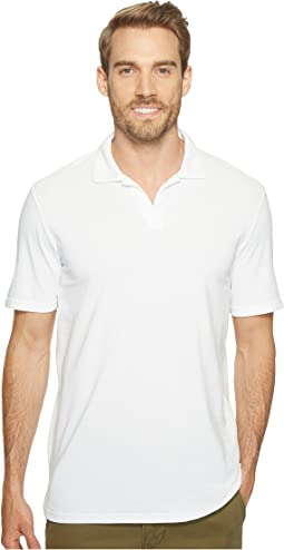 Pescadero Short Sleeve Johnny Collar Polo